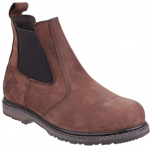 AS148 SPERRIN Leather Waterproof Dealer Boot, PU Injected Welt