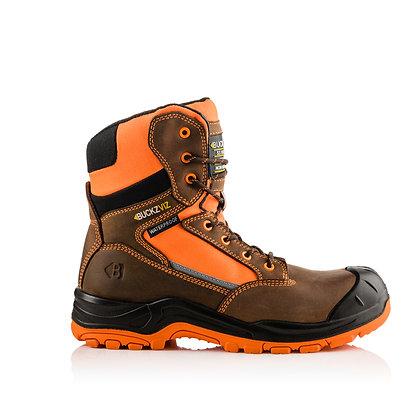 Buckler Boots Buckz Viz Safety Lace/Zip Boot