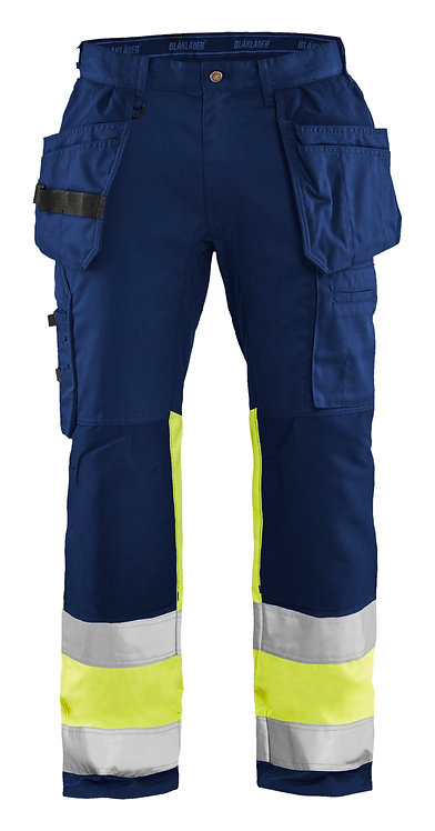 Blaklader 1558 HIGH VIS TROUSERS WITH STRETCH