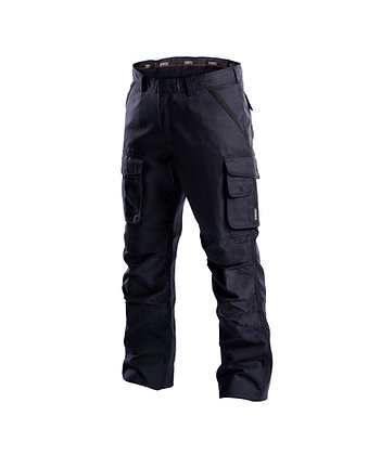 DASSY® CONNOR Canvas work trousers with knee pockets
