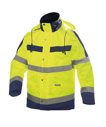 DASSY® ATLANTIS High visibility waterproof parka