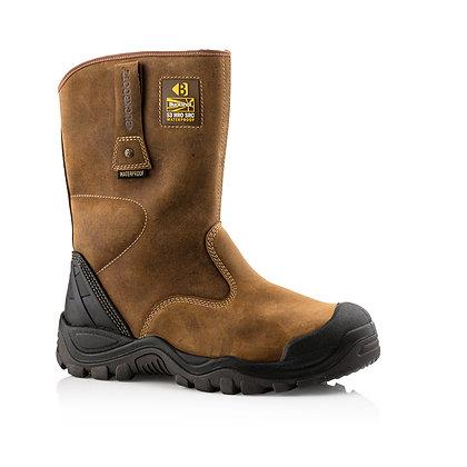 Buckler Boots BSH010BR Safety Rigger Boot