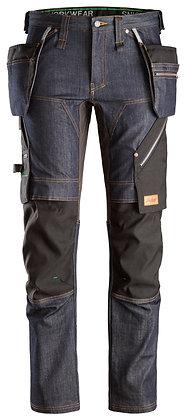 6955 FlexiWork, Denim Work Trousers+ Holster Pockets