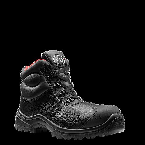 RHINO STS BLACK S3 SRC SCUFF CAP BOOT