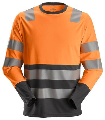 2433 AllroundWork, High-Vis LS T-Shirt CL2