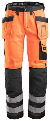 3233 High-Vis Holster Pocket Trousers, Class 2