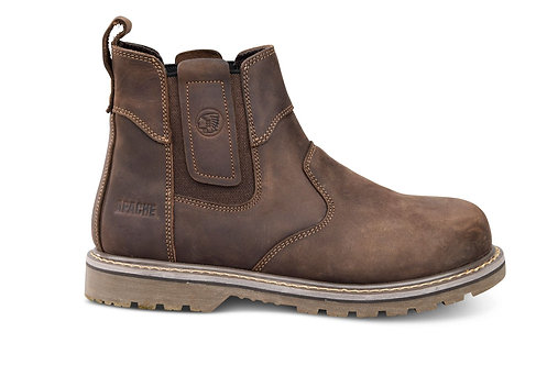 CRATER Apache Brown Crazy Horse Leather Dealer Boot