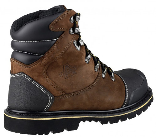 FS227 Nubuck Welted Boot with Padded Top and Bumb Cap