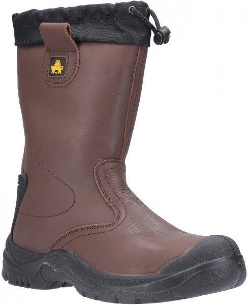 AS245 TORRIDGE Tie Top Rigger Safety Boot with Waterproof Lining