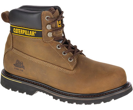 Holton Steel Toe S3 HRO SRC Work Boot Brown