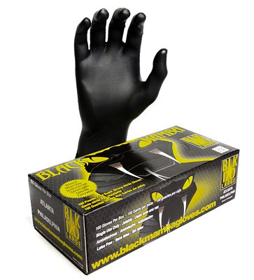 Black Mamba Nitrile Gloves