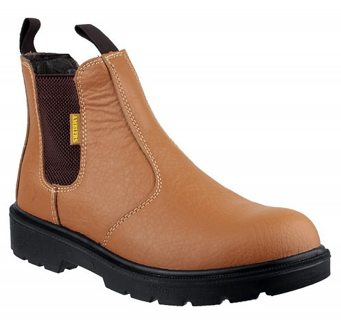 FS115 Dual Density Pull on Chelsea Safety Boot
