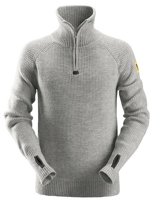 2905 Wool Half Zip Sweater