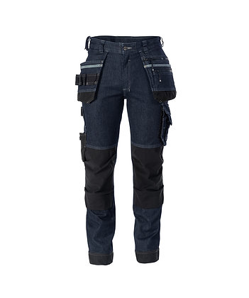DASSY® MELBOURNE Stretch jeans with multi-pockets and knee pockets