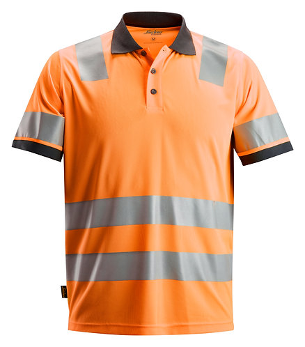 2730 AllroundWork, High-Vis Polo Shirt CL 2