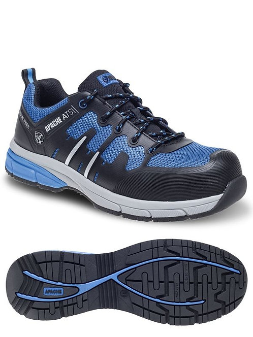 OULTON Blue/Black Metal Free Sports Safety Trainer