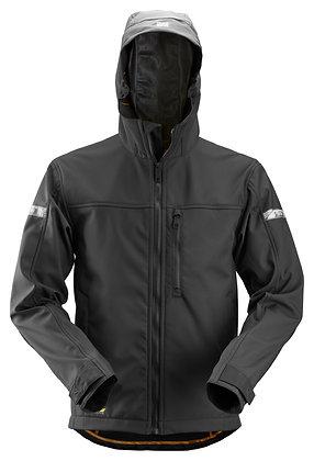 1229 AllroundWork, Softshell Jacket w Hood