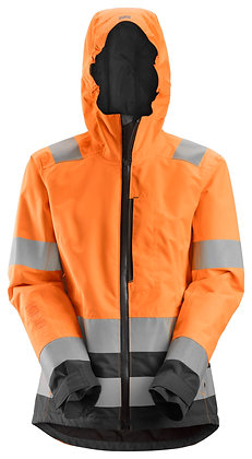1347 AllroundWork, Women's High-Vis Waterproof Shell Jacket CL 3