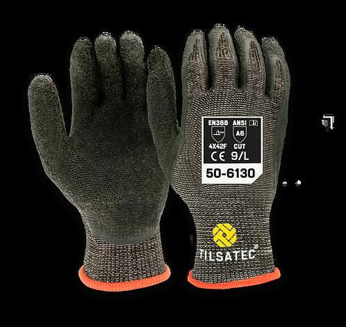 50-6130 Medium Weight Cut Level F Latex Palm Coated Glove (Pack of 12)