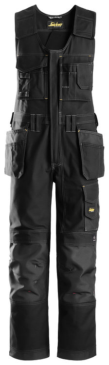 214 Craftsmen One-piece Holster Pocket Trousers, Canvas+