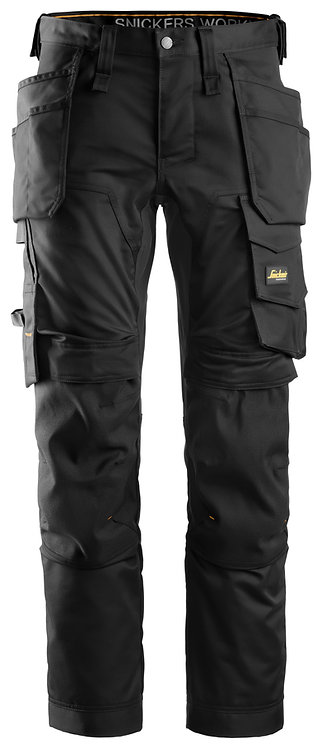 6241 AllroundWork, Stretch Trousers Holster Pockets
