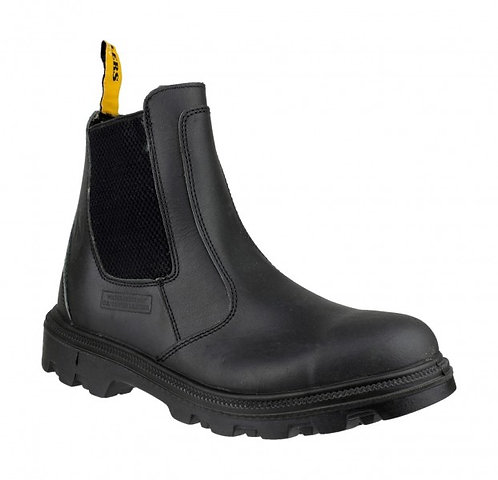 FS129 Black Dealer Boot, Rommy Toe Box, Seel Midsole
