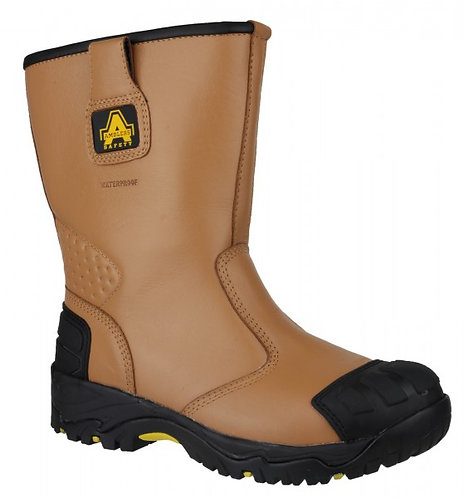 FS143 Waterproof pull on Safety Rigger Boot