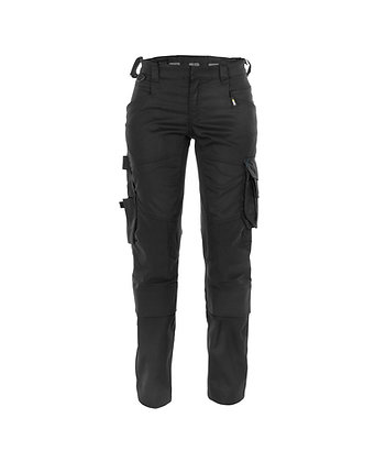 DASSY® DYNAX WOMENS work trousers with stretch and knee pockets