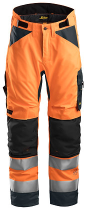 6639 AllroundWork, High-Vis 37.5® Insulated Trousers+ CL2