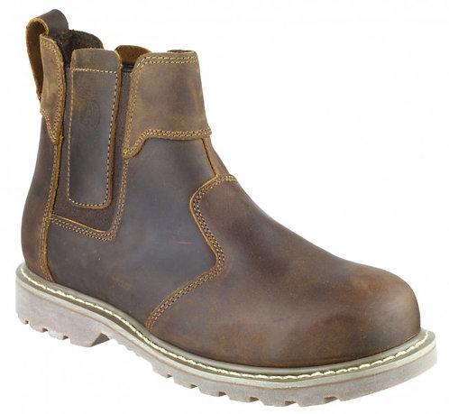 FS165 Crazy Horse Leather Welted Dealer Boot