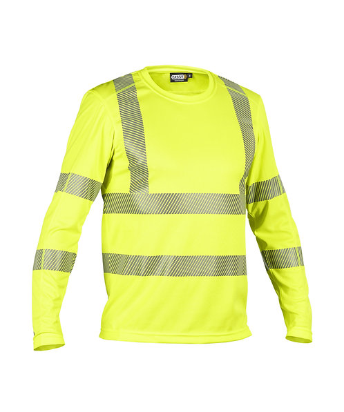 DASSY® CARTERVILLE High visibility-UV-T-Shirt with long sleeves