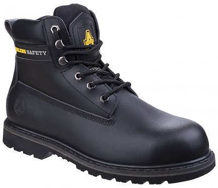 FS9 Black Welted Boot, Pad Top