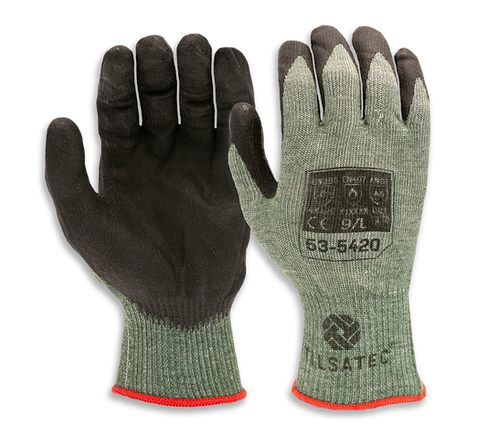 53-5420 Medium weight cut resistant foam nitrile palm coated glove (Pack of 12)