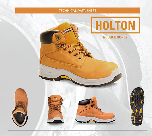 Holton Honey Nubuck