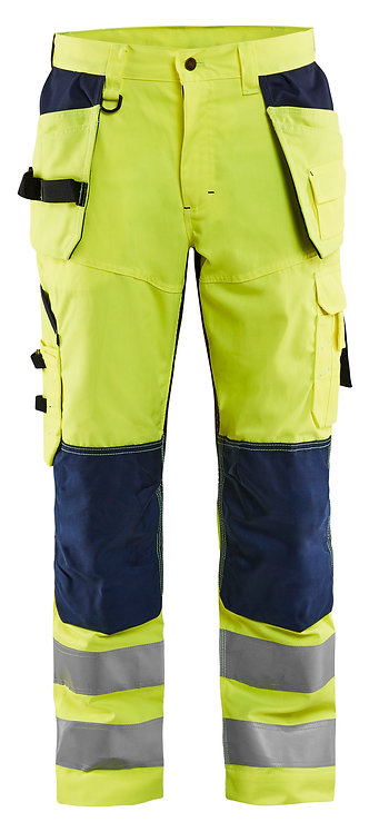 Blaklader 1565 VENTILATED HIGH VIS TROUSERS