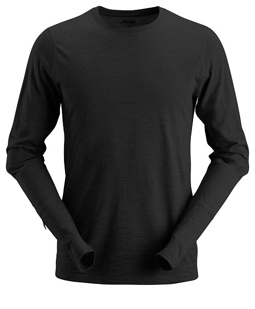 2427 AllroundWork, Wool Long Sleeve T-Shirt
