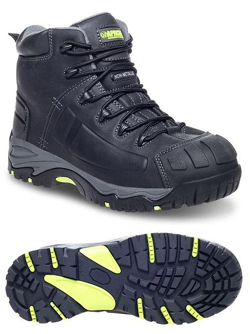 MERCURY Black Non- Metallic Waterproof Safety Boot