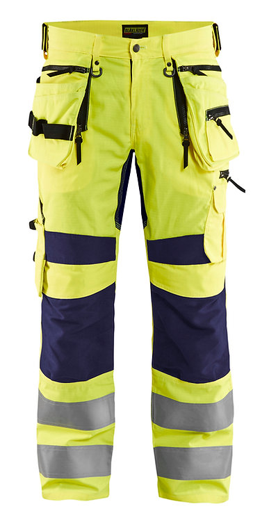 Blaklader 1995 HIGH VIS TROUSERS WITH STRETCH