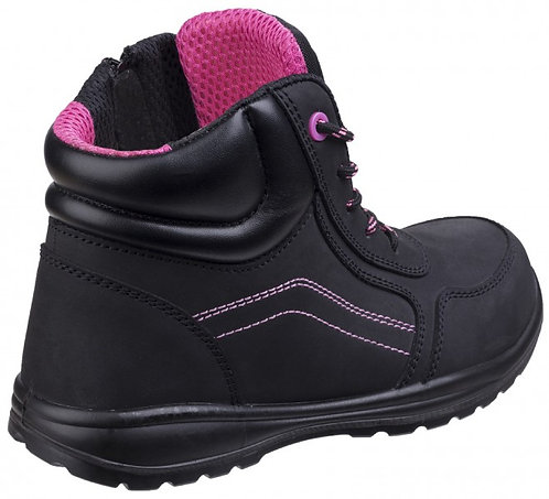 AS601 Womens Lydia Composite Safety Boot With Side Zip