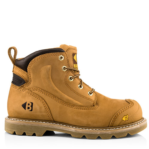 Buckler Boots B650SM Safety Lace Boot