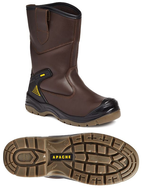 AP305 Brown Waterproof Rigger Boot