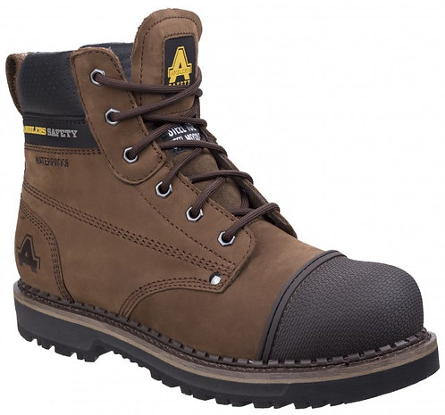 "AS233 AUSTWICK Waterproof Scuff Cap, Goodyear 6"" Lace Up Boot"