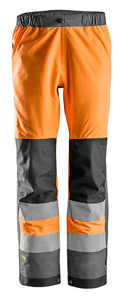 6530 AllroundWork, High-Vis WP Shell Trousers CL 2