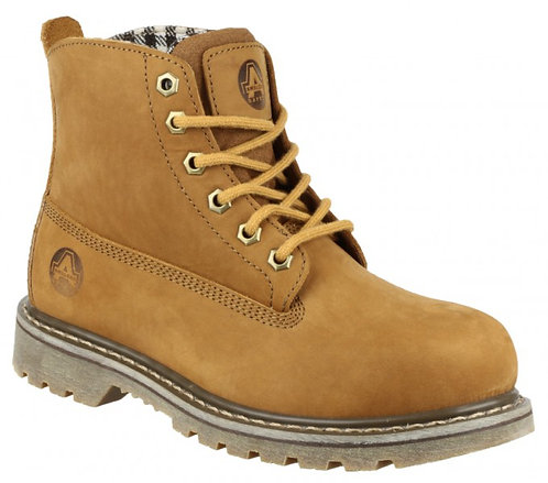 FS103 Goodyear Welted Lace Up Ladies Safety Boot