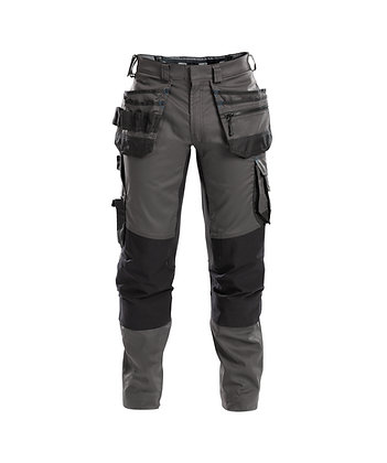 DASSY® FLUX Work trousers with stretch, multi-pockets and knee pockets