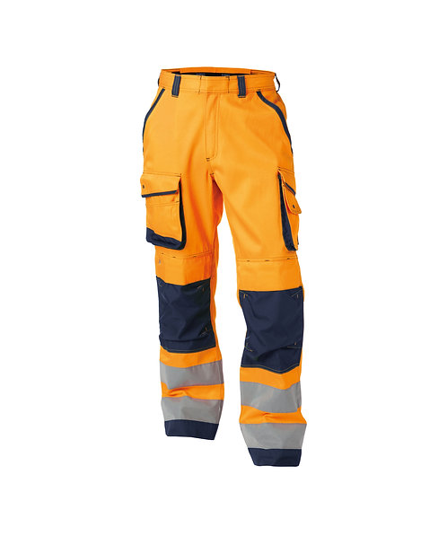 DASSY® CHICAGO High visibility work trousers with knee pockets