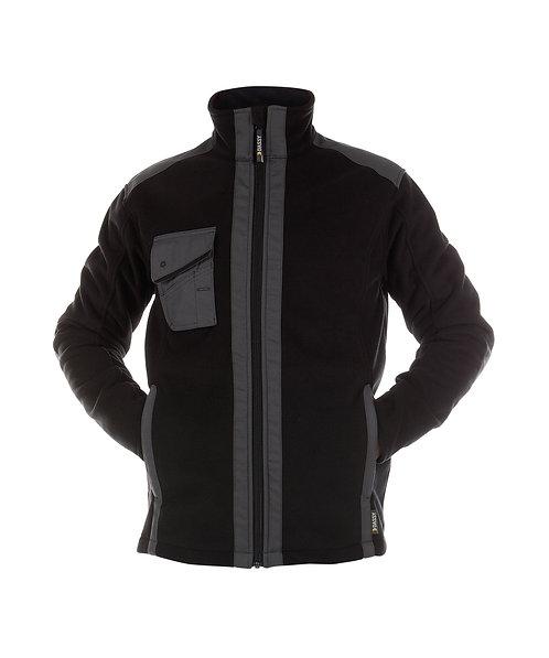 DASSY® CROFT Three-layered fleece jacket reinforced with canvas