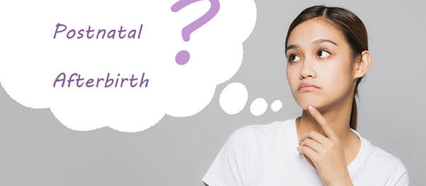 Language Matters: Postpartum, Afterbirth or Postnatal?