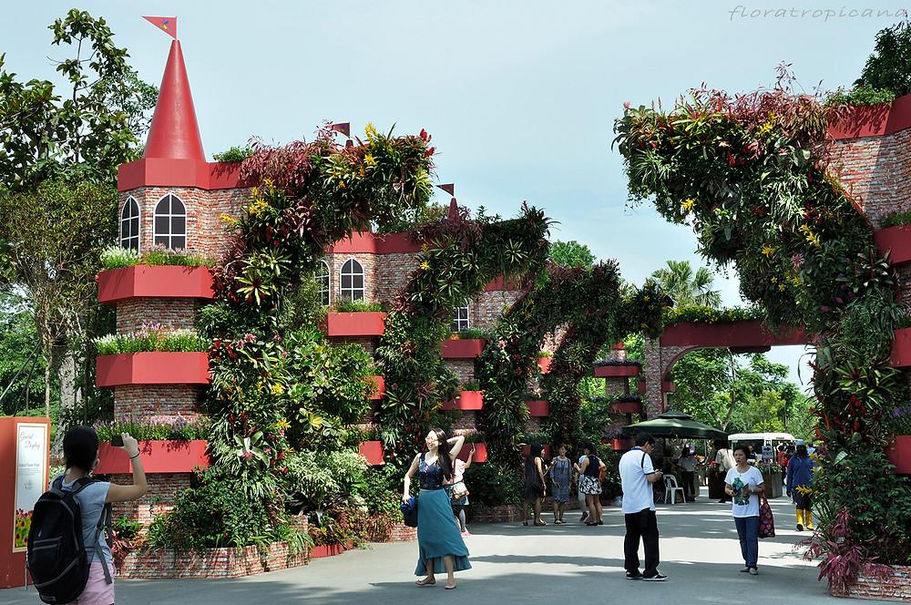 Entrance gate, Singapore Garden Festival