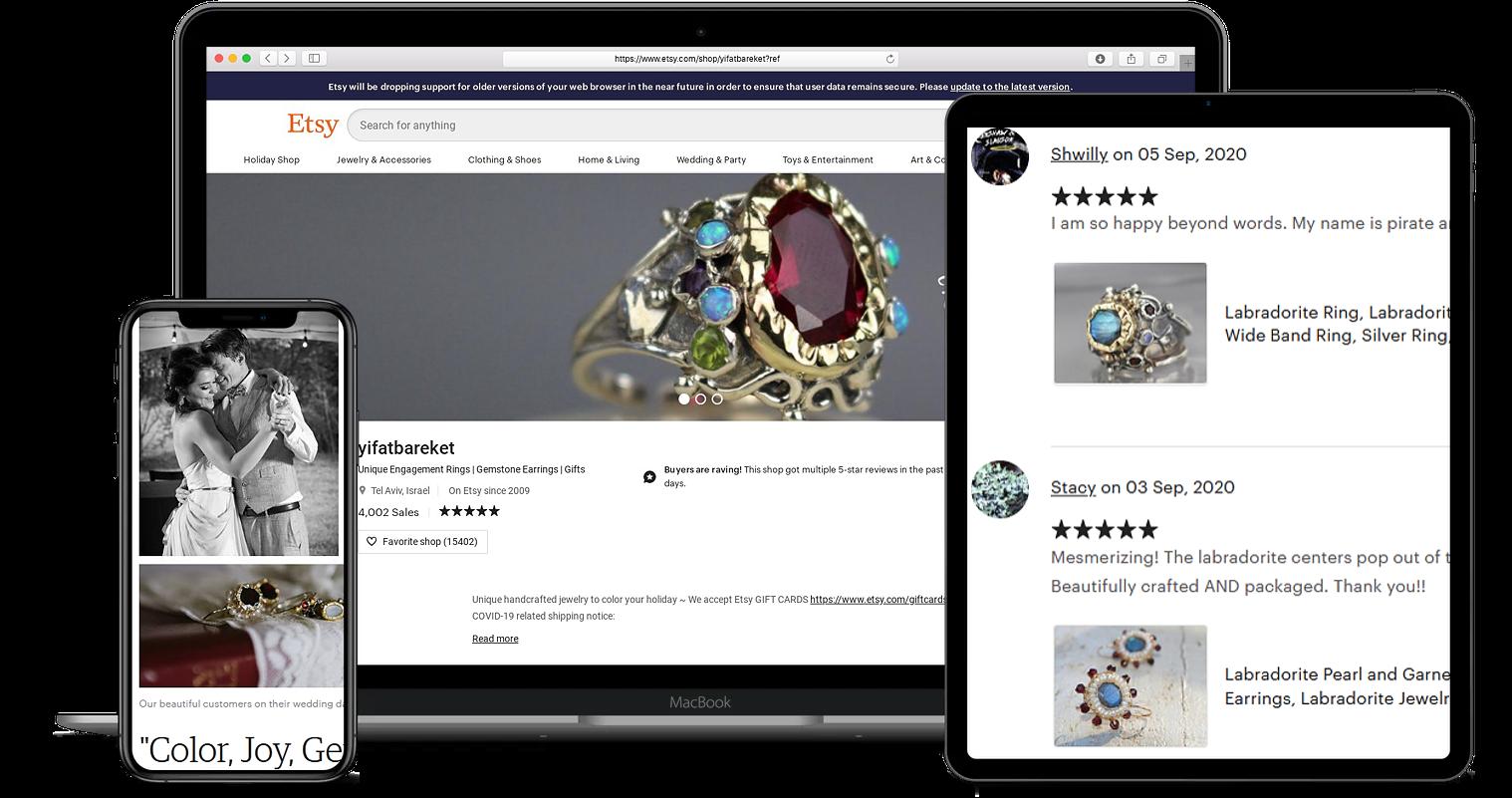 Yifat Bareket Jewelry Designs